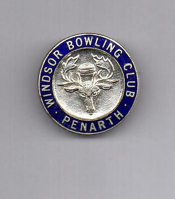 Windsor Bowling Club, Penarth Logo